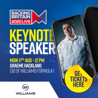 Keynote speaker - Graeme Hackland CIO of Williams F1