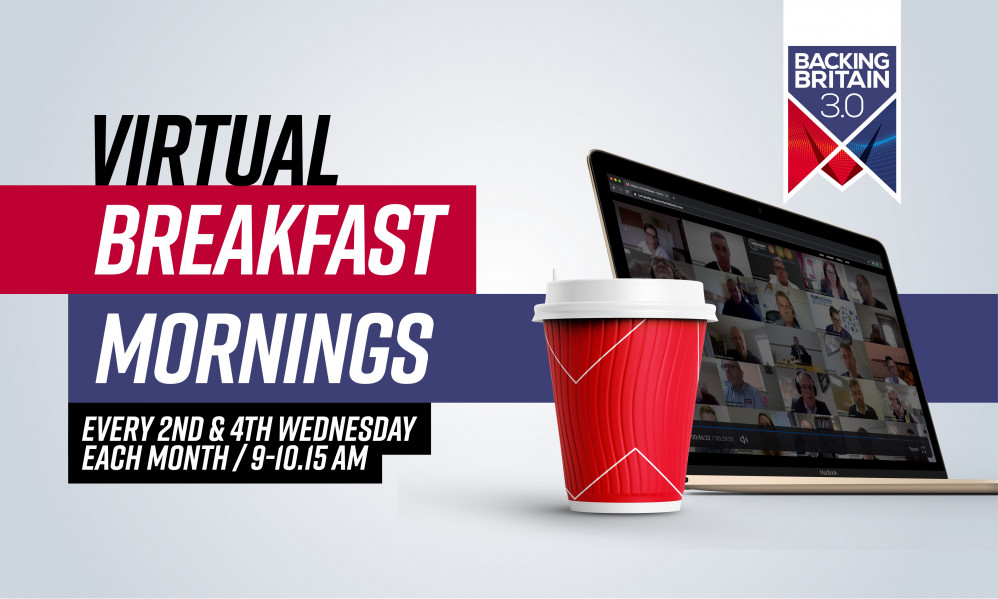 Backing Britain Virtual Breakfast Mornings