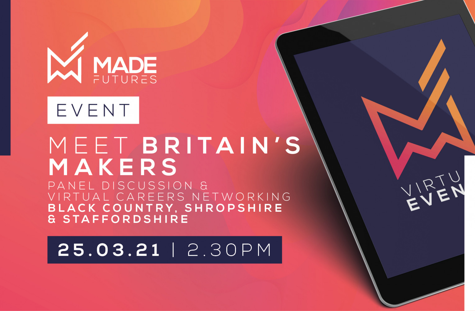 Meet Britain's makers & virtual speed networking - Black Country, Shropshire and Staffordshire