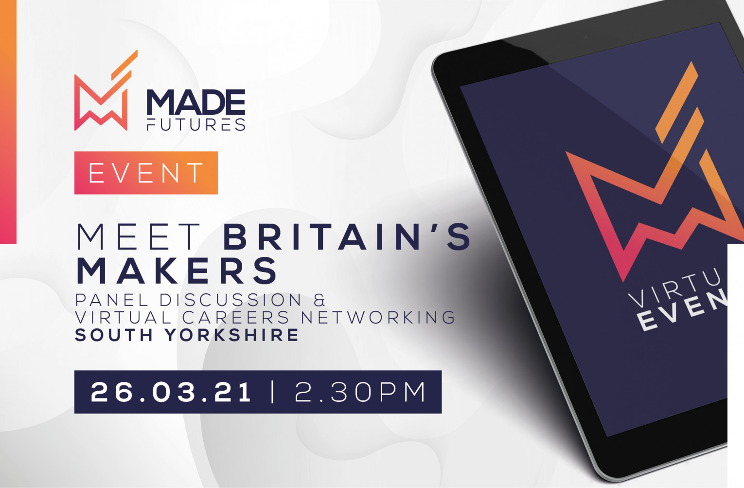 Meet Britain's makers & virtual speed networking - South Yorkshire