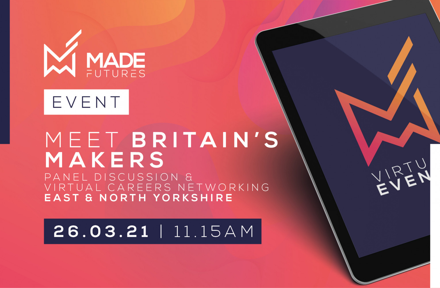 Meet Britain's makers & virtual speed networking - East Yorkshire and North Yorkshire