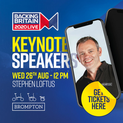 Keynote speaker - Stephen Loftus CCO at Brompton Bikes