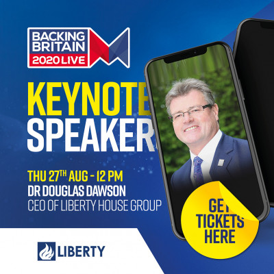 Keynote speaker - DR Douglas Dawson CEO of Liberty House Group