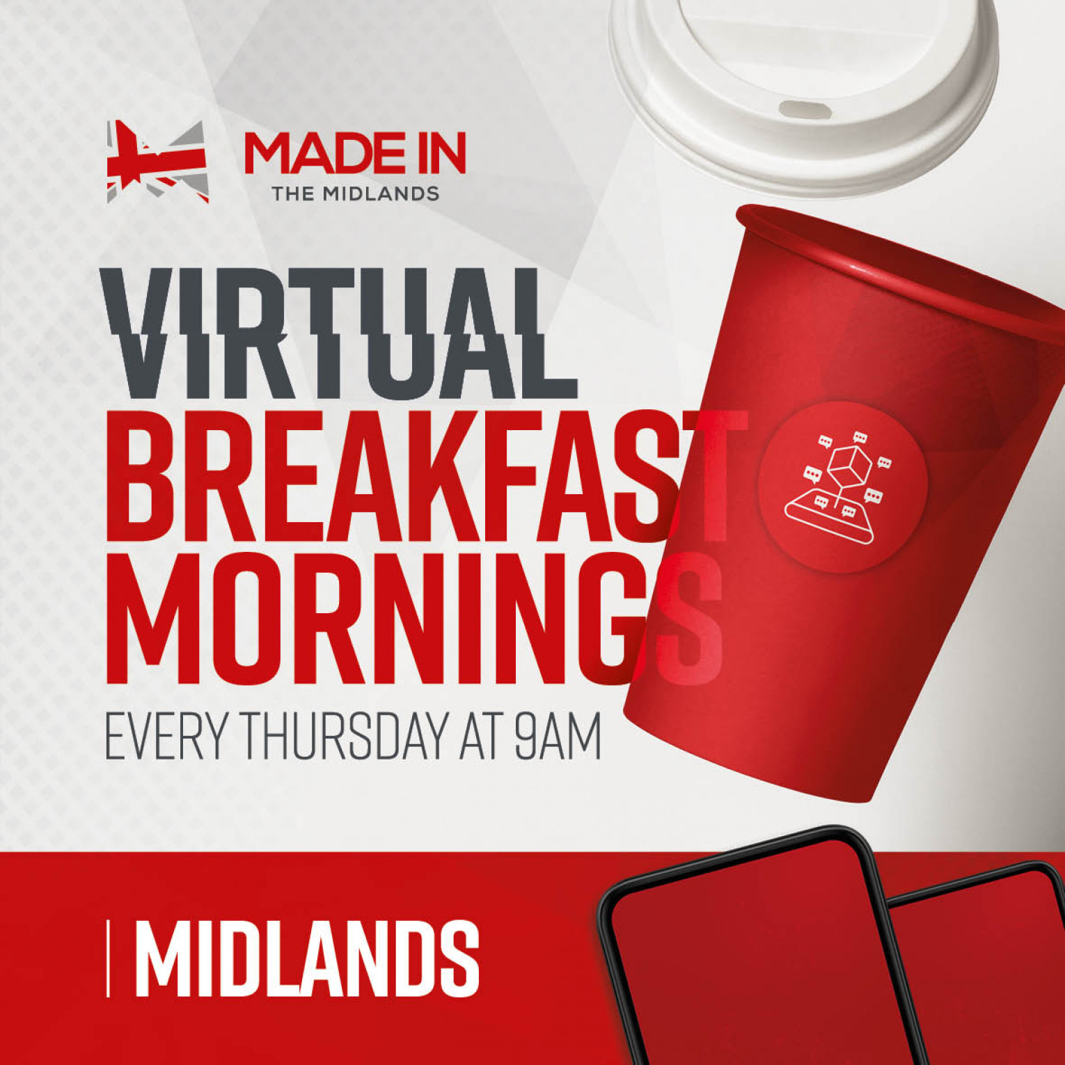 Made in the Midlands Virtual Breakfast Morning Networking event with Birmingham Prototypes