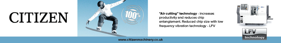 Citizen Machinery microsite advert