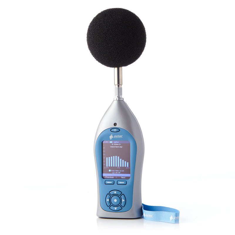 Occupational noise meter