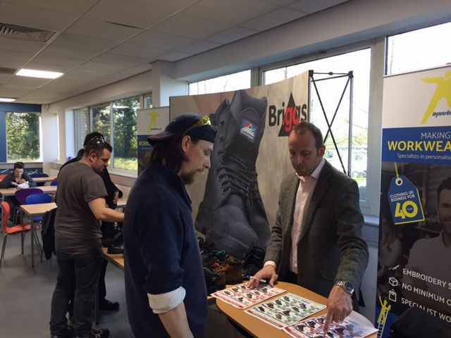 MyWorkwear and Briggs interact to team members at Proto Labs UK.